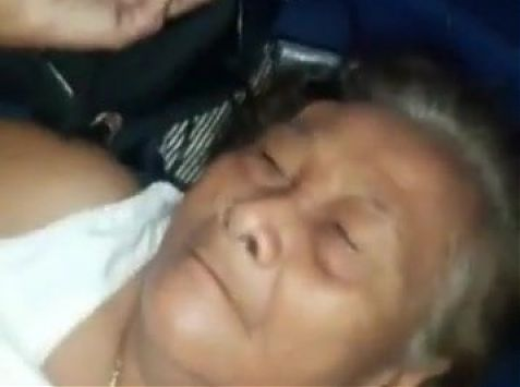 Very Old Chinese Granny Fuck